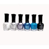 Kleancolor - 6 Awesome Nail Lacquers - Set 14