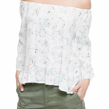 Sanctuary Julia Off the Shoulder Top | Nordstrom