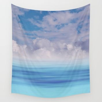 The Sea is Calm Wall Tapestry by NaturalColors