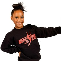 Crewneck Black Sweatshirt | ALDC