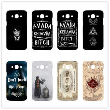 Don't touch my phone muggle Harry Potter  Rubber Phone Cases for Samsung Galaxy S3 Mini S6 Edge  S7Edge Note 2 3 4 5