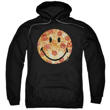 Smiley World - Pizza Face Adult Pull Over Hoodie