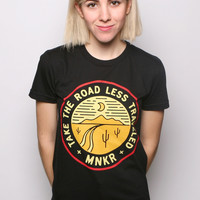 Road Less Traveled T-shirt Black