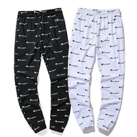 Champion slacks printed with thin wool loops and trousers for the men's and women's party