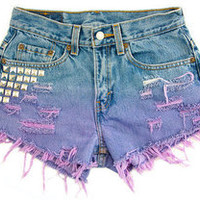 SuperCoolShorts — CUSTOM HIGH WAISTED SHORTS
