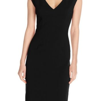 Eliza J Crepe Sheath Dress (Regular & Petite) | Nordstrom