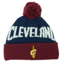 Cleveland Cavaliers NBA Youth Solid Team Jacuard Pom Knit