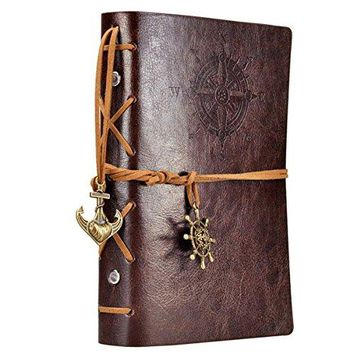 Nautical Leather Travel Journal