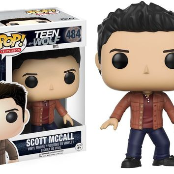 Scott McCall Teen Wolf Funko Pop! Vinyl Figure #484