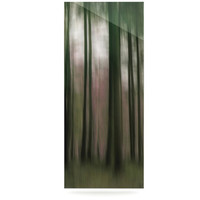 KESS InHouse Forest Blur by Alison Coxon Graphic Art Plaque