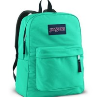 JanSport Superbreak School Backpack (Blinded Blue)