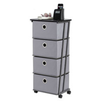 Studio 3B™ 4-Drawer Storage Cart in Grey