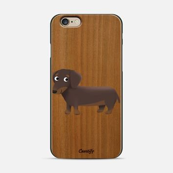 Dachshund Dog (Clear) iPhone 6 case by Cassandra Gibbons | Casetify