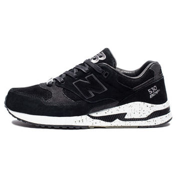 NEW BALANCE EVAN LONGORIA 530 - BLACK/WHITE SPECKLE | Undefeated