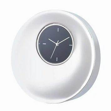 Personalized Free Engraving Silver Desk Dome Shape Clock