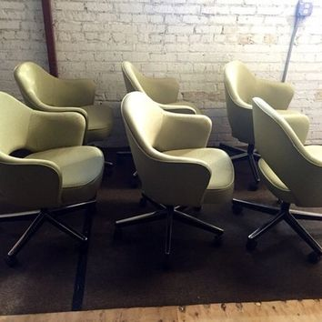 Eero Saarinen Knoll Executive Office Desk Chairs