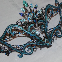 Made to Order Metallic Masquerade Mask