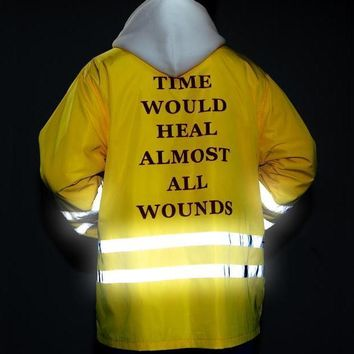 """Time Would Heal Almost All Wounds"""