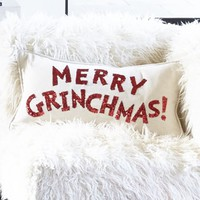 MERRY GRINCH™MAS PILLOW COVER