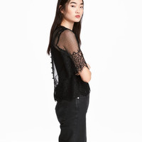 H&M Lace Blouse $17.99
