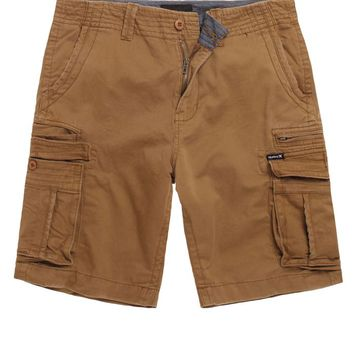 Hurley Riley 2 Solid Cargo Shorts - Mens Shorts
