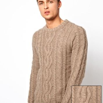 ASOS Cable Sweater