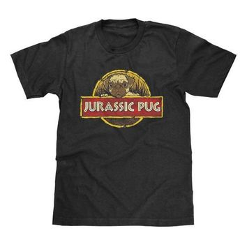 Jurassic Pug Shirt Jurassic Park Inspired Jurassic Park World Available in Adult & Youth Sizes