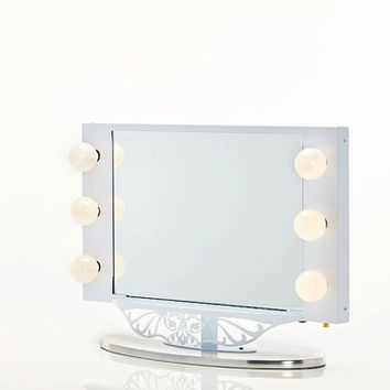 Starlet Lighted Vanity Mirror White