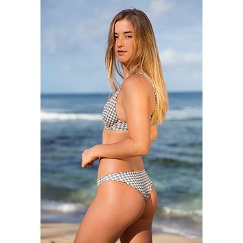 ACACIA Swimwear 2019 Waikoloa Bottom in Houndstooth
