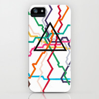 iPhone 5 Case - Angular Subway System - unique iPhone case, art iPhone case, hipster iphone case, iphone 5 case