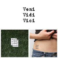 Victorious - Temporary Tattoo (Set of 2)