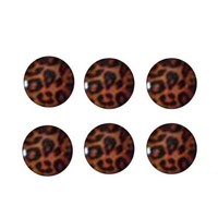 Home Button Leopard Stickers Print for Iphone / Ipad / Ipod
