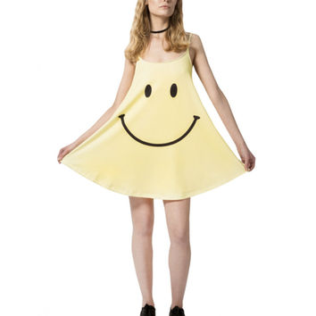 SMILEY FACE TANK DRESS