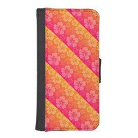 Tropical Floral iPhone 5/5S Wallet Case