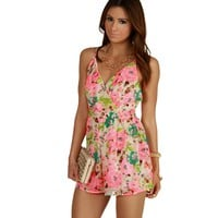 In The Tropics Romper