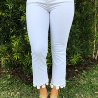 For The Summer Pants: White