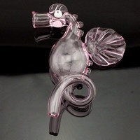 Seahorse Glass Pipe