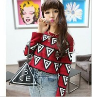 Triangle Sweater -more colors!