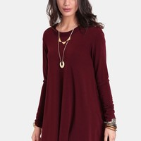 Raising Bets Trapeze Dress