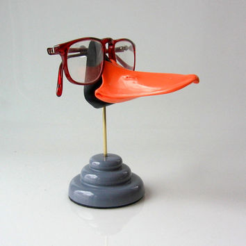 Duckbill Eyeglass stand, Funny sunglasses display, Kids glasses holder , Men, Women, duck lover  gift