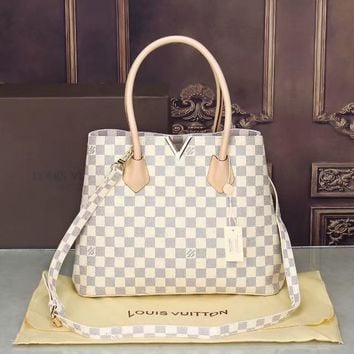 LV Women Shopping Bag Leather Satchel Crossbody Shoulder Bag-15