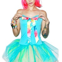 Very Fairy Rainbow Dress LIGHT GREEN