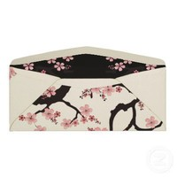 Sakura Tree Envelope from Zazzle.com