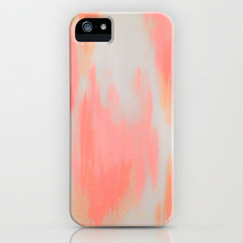MELTED HEARTS iPhone & iPod Case by pattern paint