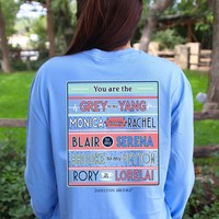 Jadelynn Brooke: You are the Best of Best L/S Tee {Periwinkle}