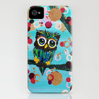:: Gemmy Owl Loves Jewel Trees :: iPhone Case by GaleStorm Artworks | Society6