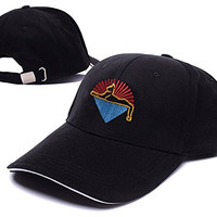 Grateful Dead Cats Under The Stars Logo Adjustable Baseball Caps Unisex Snapback Embroidery Hats