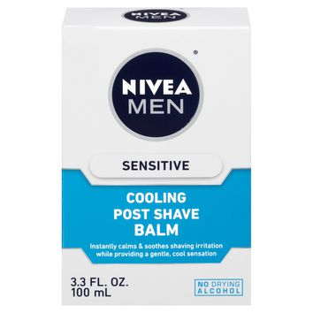 Nivea Sensitive Cooling Post Shave Balm for Men - 3.3 oz