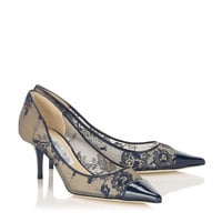 Cool Summer  Jim Euro Lace Floral Pactchwork Shallow Opening Pumps Simple Wedding HighThin Heels Sexy Party Pointed Toe Shoes