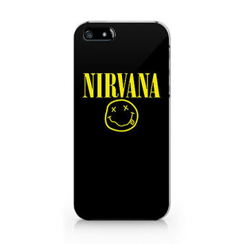 M-565- Nirvana nevermind design for iPhone 4/5/5C/6 case, Samsung galaxy S4/S5/Note3 case